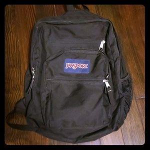Jansport black bookbag
